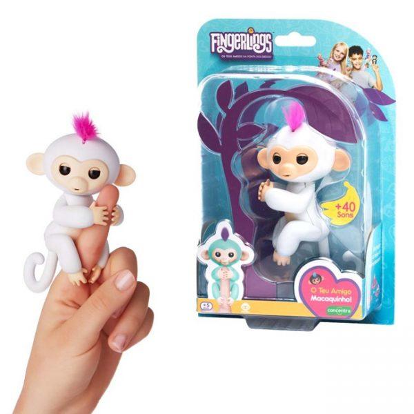 Fingerlings – Macaco Interativo Sophie (branco)