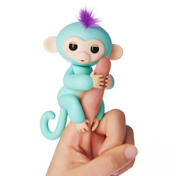 Fingerlings – Macaco Interativo Zoe (turquesa)