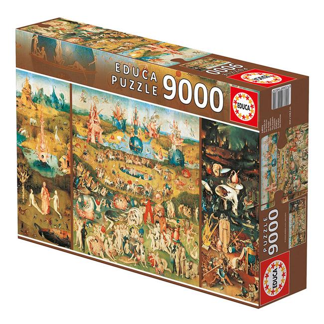 Educa - Puzzle 9000 Peças Jardim das Delícias