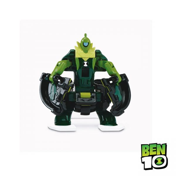 Ben 10 – Relógio Omni-Launch Four Arms e Wildvine