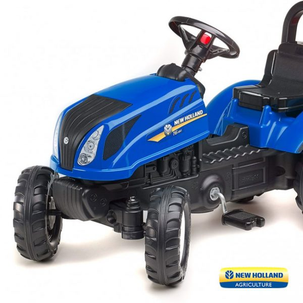 Trator New Holland T6 + Reboque