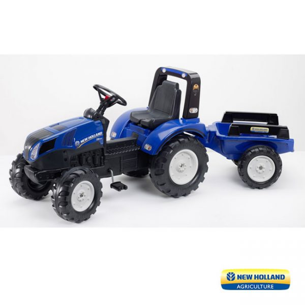 Trator New Holland T8 + Reboque