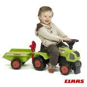 Tractor Baby Claas Axos 310 + Reboque