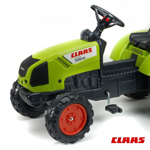 Trator Claas Arion 430 + Reboque