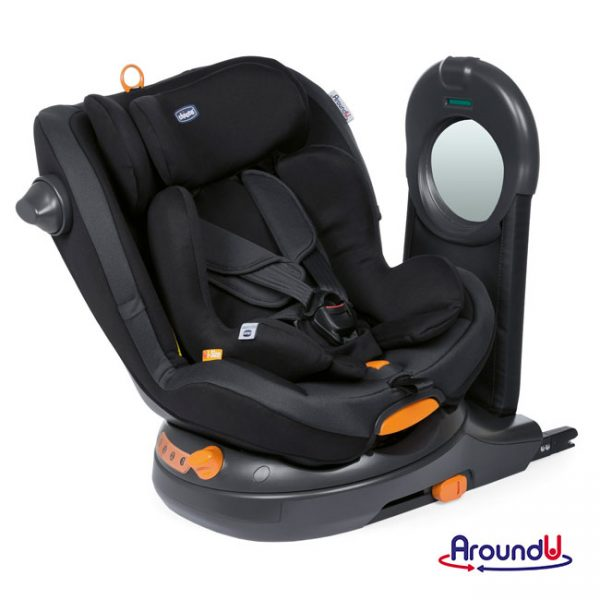 Cadeira Auto AroundU i-Size Jet Black