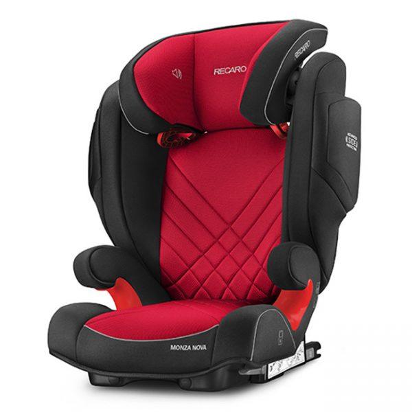 Cadeira Recaro Monza Nova 2 Seatfix Racing Red
