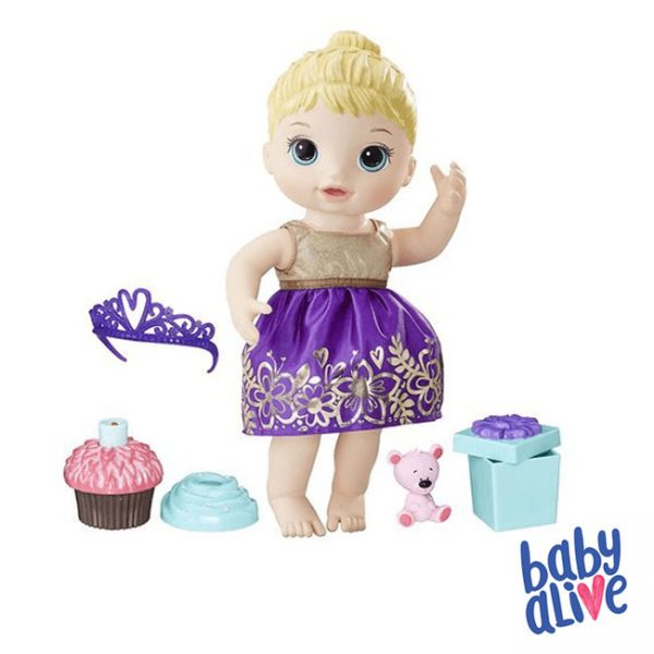 Baby Alive Aniversário Surpresa Loira