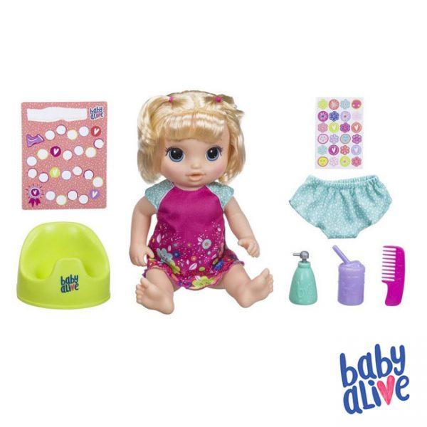 Baby Alive Hora de Fazer Chichi Loira