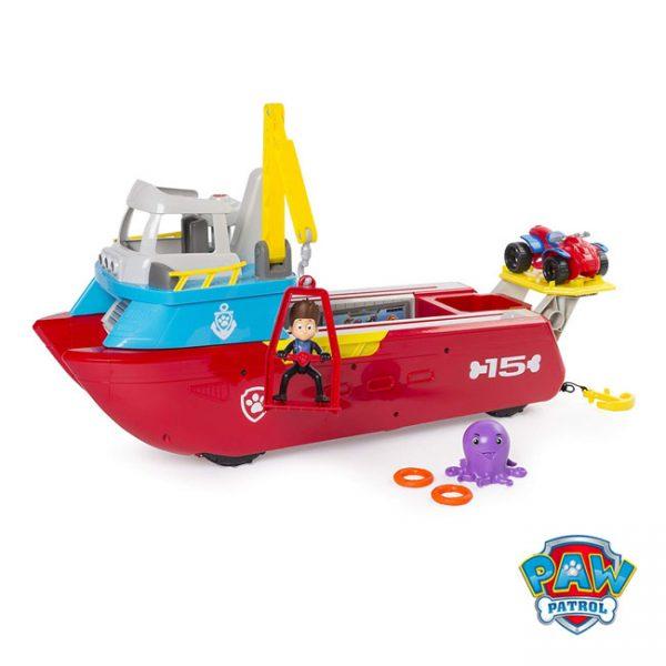 Patrulha Pata – Barco Patrulheiro
