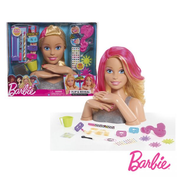Barbie Busto Flip and Reveal