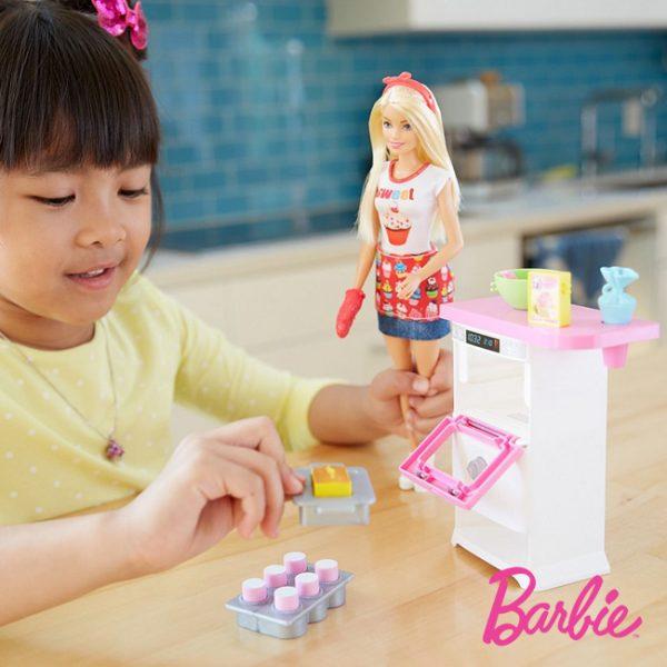 Barbie Chef Cozinheira e Pasteleira