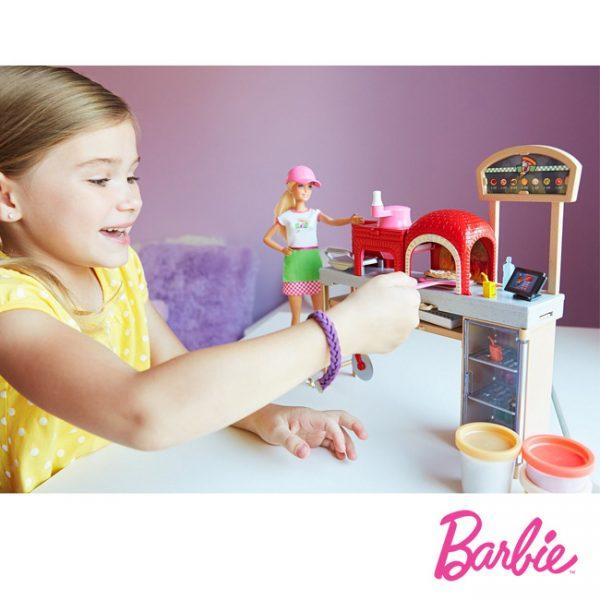 Barbie Chef de Pizzas c/ Acessórios