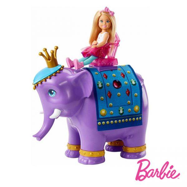 Barbie Chelsea e Elefante