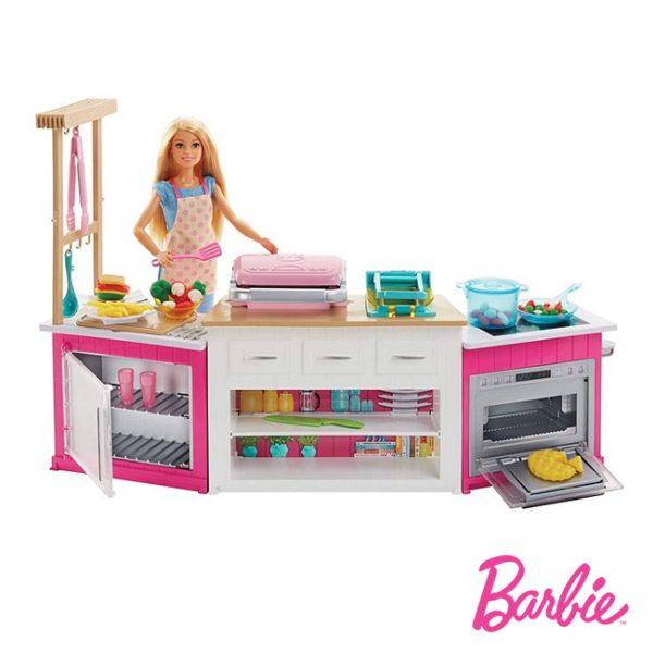 Barbie Super Cozinha c/ Boneca