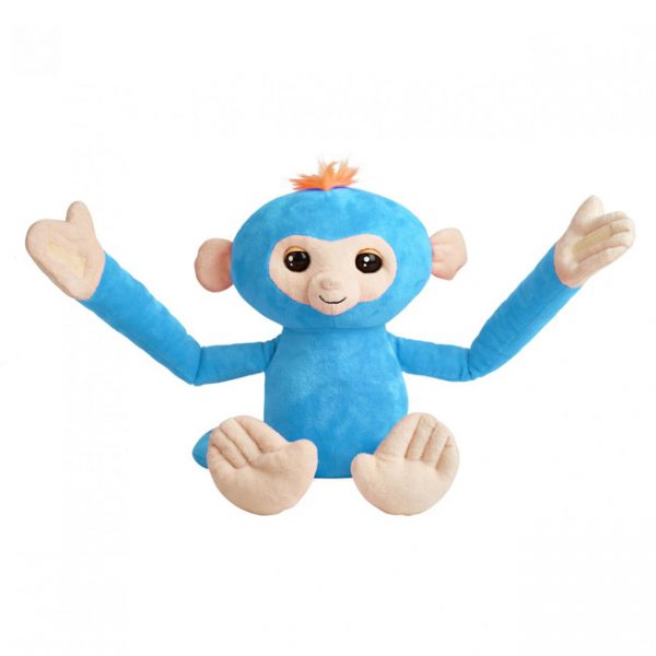 Fingerlings Hugs – Peluche Interativo Boris (Azul)