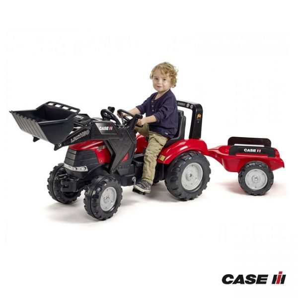 Trator Case IH Puma 240CVX + Reboque + Pá
