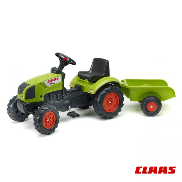 Trator Claas Arion 410 + Reboque