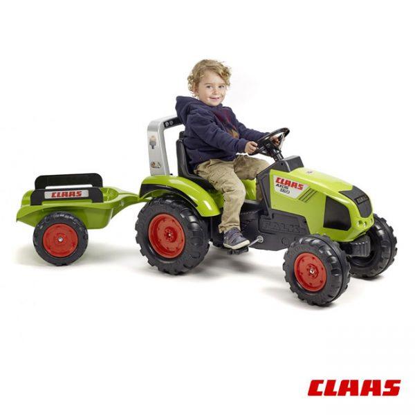 Trator Claas Axos 330 + Reboque