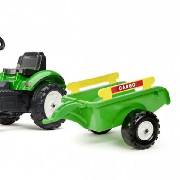 Trator Ranch Trac Green + Reboque + Pá
