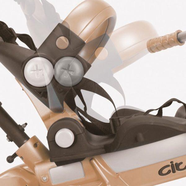 Triciclo City Max 360º