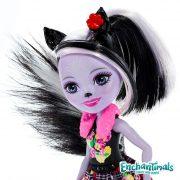 Enchantimals Boneca Sage Skunk e Caper