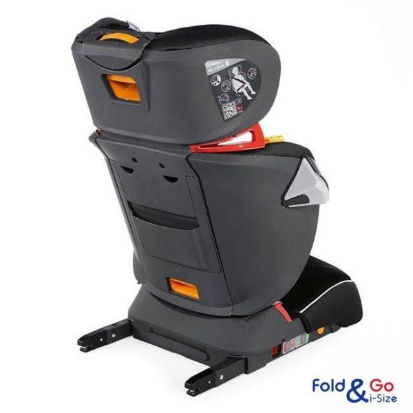 Cadeira Chicco Fold & Go i-Size Red Passion