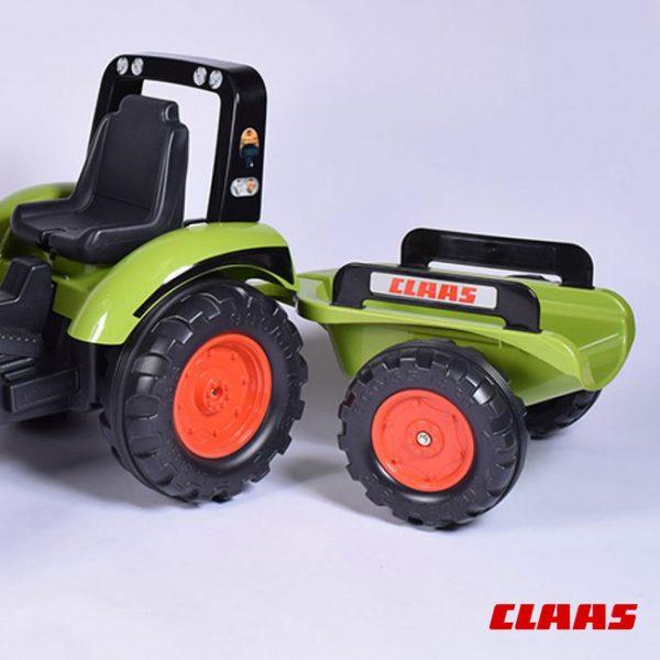 Trator Claas FL 120 + Reboque + Pá