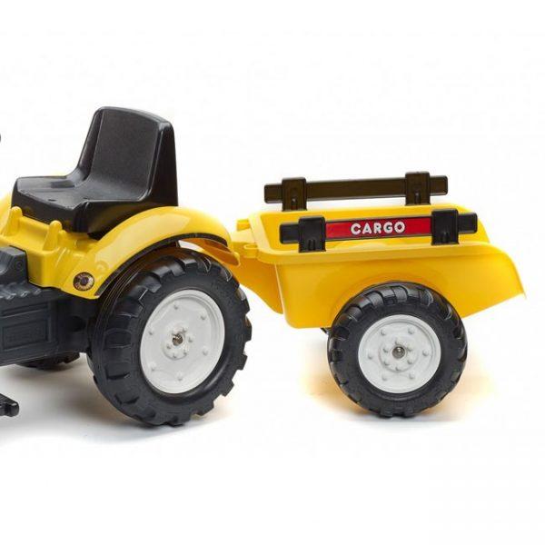 Trator Ranch Trac Yellow + Reboque + Pá