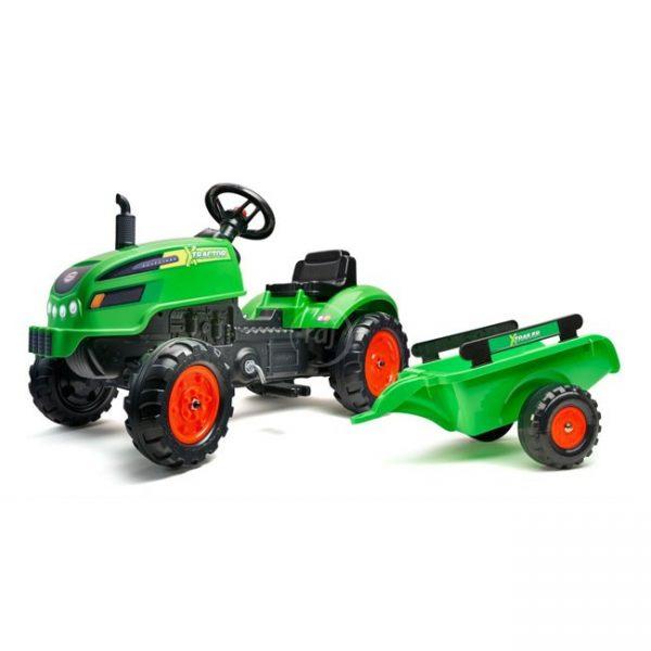 Trator X-Tractor Green + Reboque