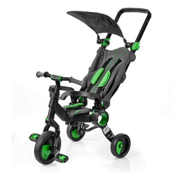 Triciclo Dobrável Galileo Green