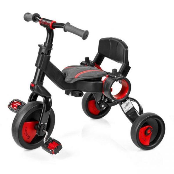 Triciclo Dobrável Galileo Red