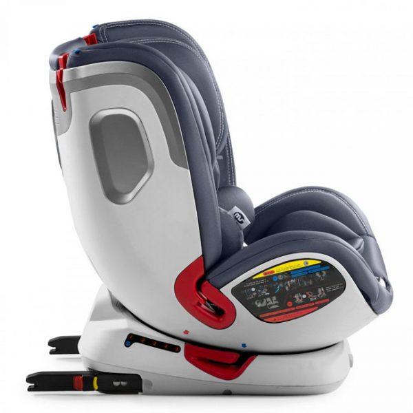 Cadeira Turn Dual Giratória 360º Cinza 0/1/2/3