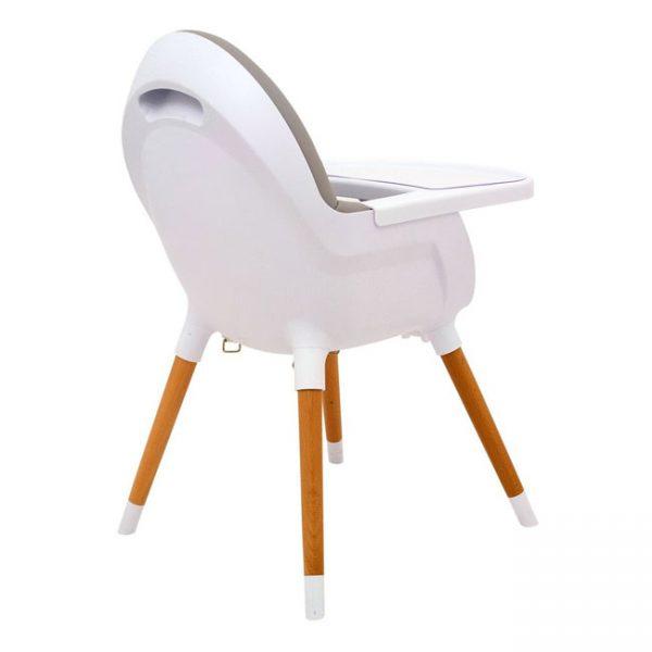 Cadeira de Papa Madeira Olmitos Cinza