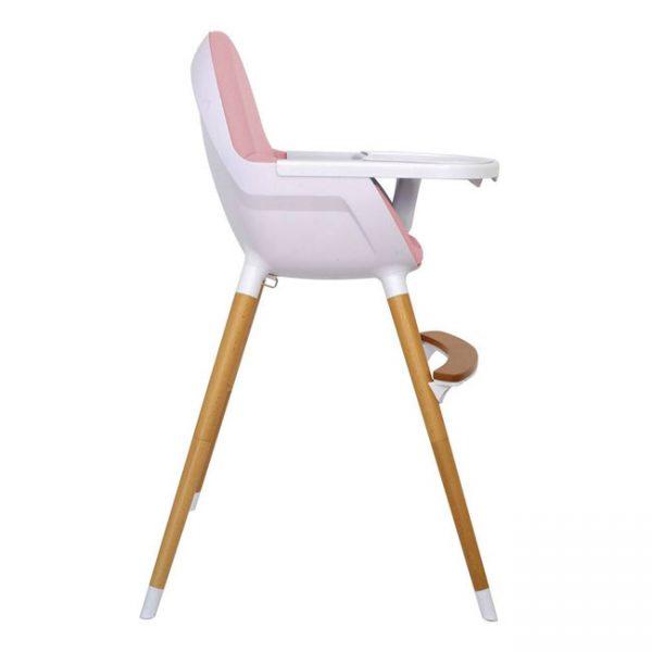 Cadeira de Papa Madeira Olmitos Rosa