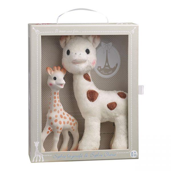 Girafa Sofia e Peluche Girafa Sofia