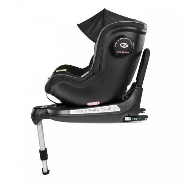 Cadeira MS Swivel Plus Giratória 360º Black