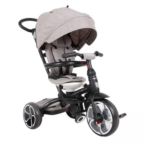Triciclo QPlay Prime Grey