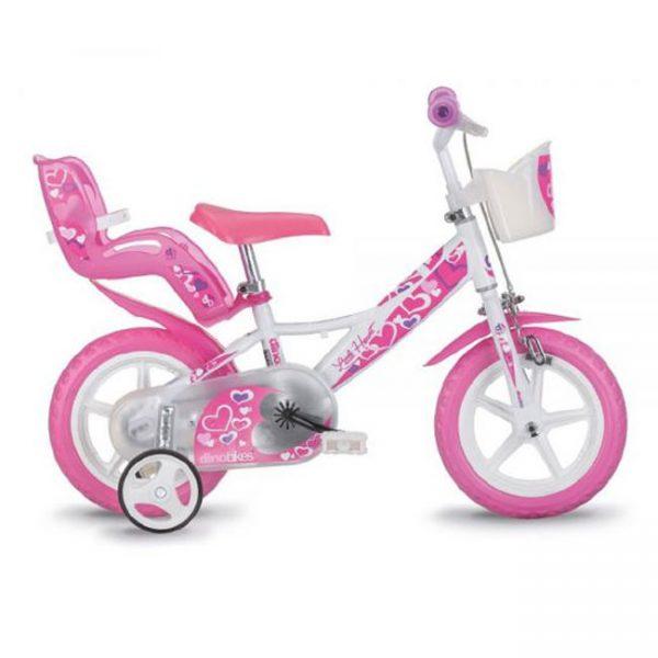 Bicicleta Dino Girl 12″