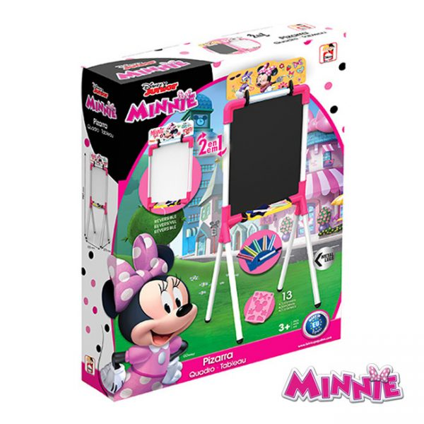 Meu Primeiro Quadro 2 Faces Minnie