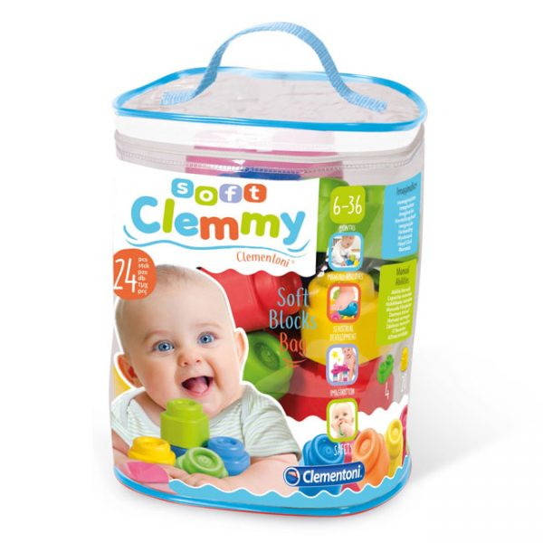 Soft Clemmy Saco 24 Peças