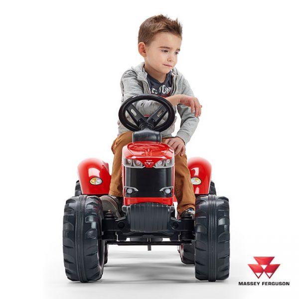 Trator Massey Ferguson S8740 + Reboque