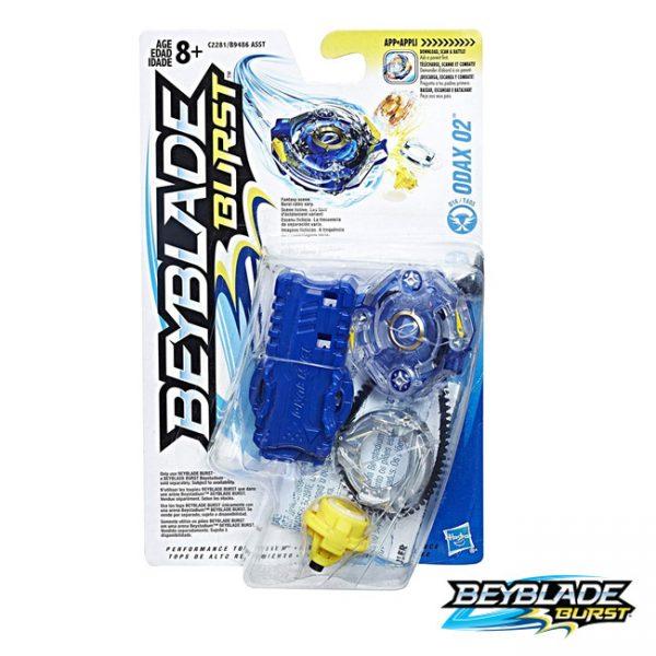 Beyblade Burst Pião c/ Lançador Odax O2