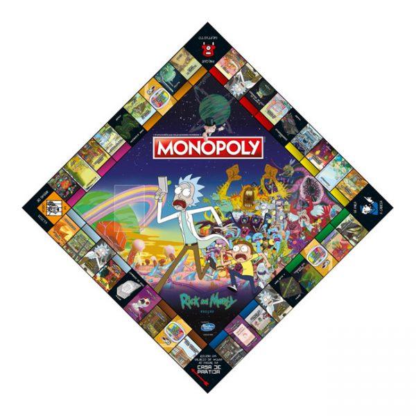 Monopoly Rick & Morty (Versão em Português)