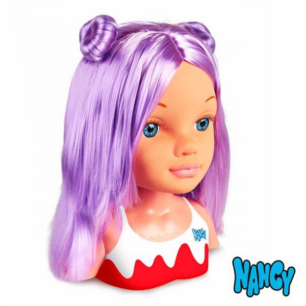 Nancy um dia de Segredos de Beleza Violeta
