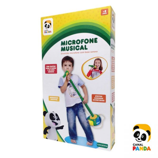 Panda Microfone Musical