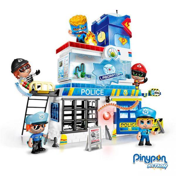 Pinypon Action Armadilhas na Esquadra