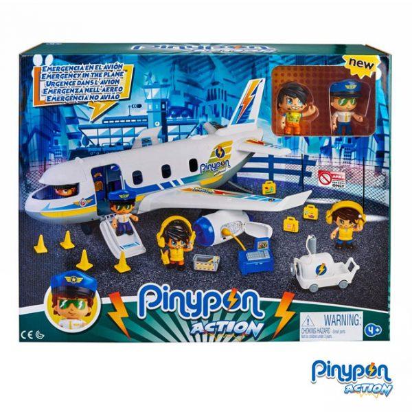 Pinypon Action Emergência no Avião