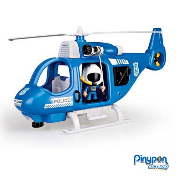 Pinypon Action Helicóptero de Polícia