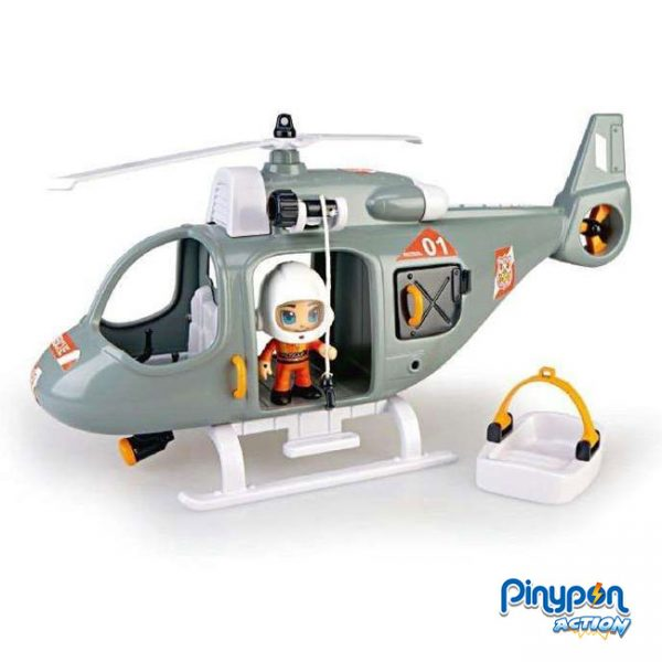 Pinypon Action Helicóptero de Resgate