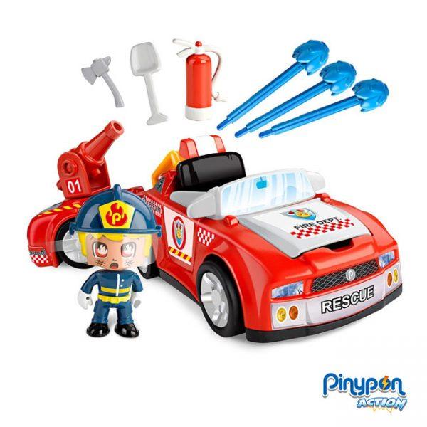 Pinypon Action Veículo de Ação Bombeiros